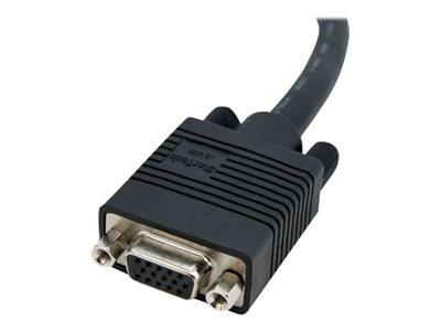 StarTech.com 6 ft Coax High Resolution VGA Monitor Extension Cable - HD15 M/F