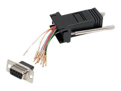 StarTech.com DB9 to RJ45 Modular Adapter - F/F