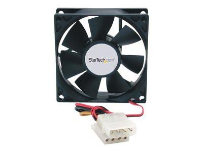 StarTech.com 80x25mm Dual Ball Bearing Computer Case Fan with LP4 Connector