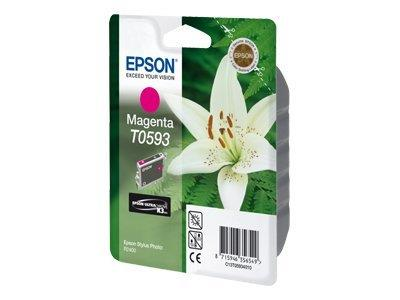 Epson T0593 - Print cartridge - 1 x magenta