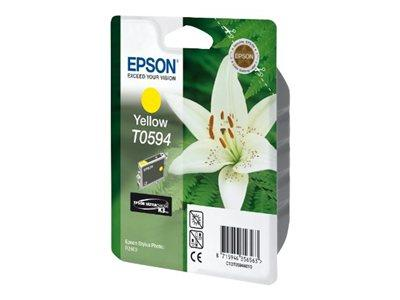 Epson T0594 - Print cartridge - 1 x pigmented yellow