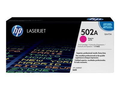 HP 502A Magenta Original LaserJet Toner Cartridge