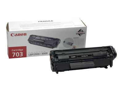 Canon 703 Black Toner Cartridge for LBP2900/3000