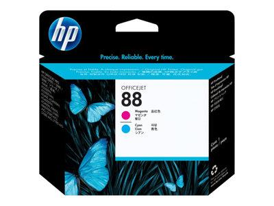 HP 88 Magenta and Cyan Officejet Printhead