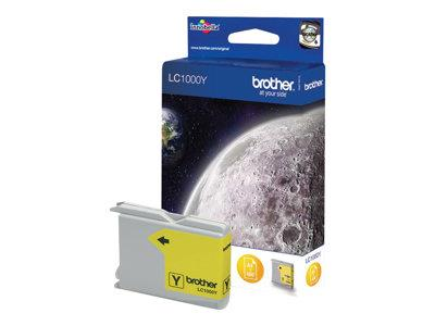 Brother LC1000Y - Print cartridge - 1 x yellow