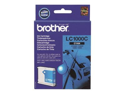 Brother LC1000C - Print cartridge - 1 x cyan