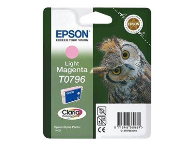 Epson C13T079640A0 Light Magenta Ink Cartridge