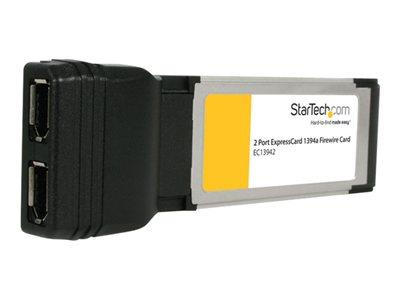 StarTech.com 2 Port ExpressCard Laptop 1394a Firewire Adapter Card