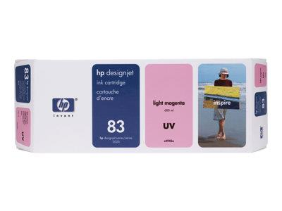 HP 83 680-ml Light Magenta UV Ink Cartridge