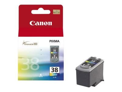 Canon CL-38 Print Colour (Cyan/Magenta/Yellow) Ink Cartridge