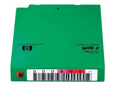 HPE Ultrium Non Custom Labeled Data Cartridge LTO Ultrium x 20 - 800GB - storage media