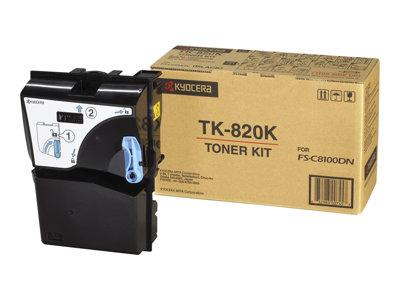 Kyocera Black Toner for FS-C8100DN