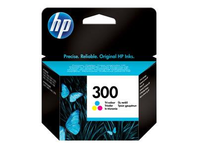 HP 300 Tri-colour Original Ink Cartridge