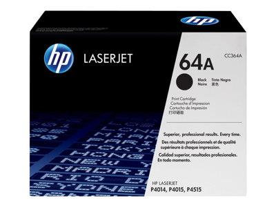 HP 64A Black Original LaserJet Toner Cartridge