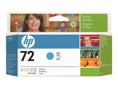 HP 72 130-ml Cyan Ink Cartridge