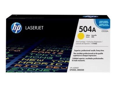HP 504A Yellow Original LaserJet Toner Cartridge