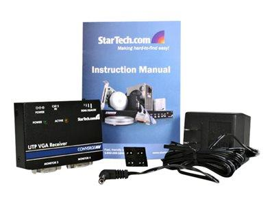 StarTech.com VGA over Cat 5 UTP Video Extender Receiver