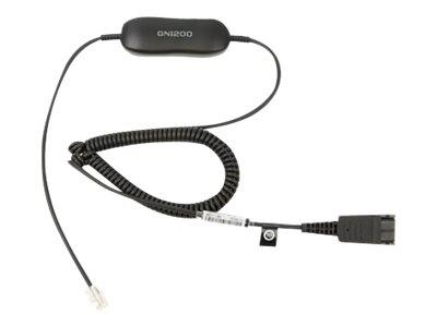 Jabra GN1200  Smartcord (Curly) - for Desk Phone Connectivity