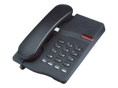 Interquartz Gemini Basic 9330 - corded phone - Black