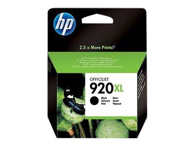 HP 920XL High Yield Black Original Ink Cartridge