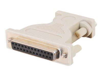 C2G DB9 Male to DB25 Female Serial Adapter