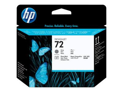HP 72 Gray and Photo Black Printhead