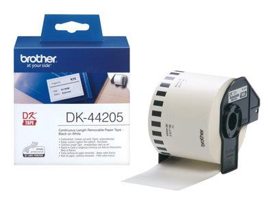 Brother p-touch White Paper - 62mm