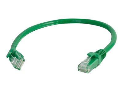 C2G 1m Cat5E 350 MHz Snagless Booted Patch Cable - Green
