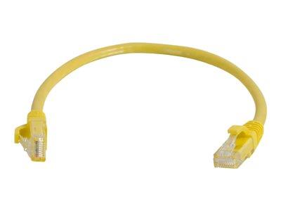 C2G 3m Cat5E 350 MHz Snagless Booted Patch Cable - Yellow