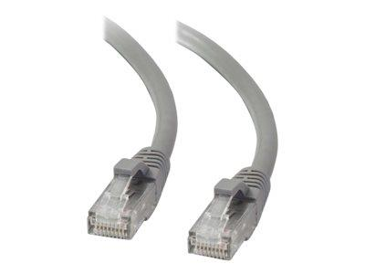 C2G .5m Cat5E 350 MHz Snagless Patch Cable - Grey