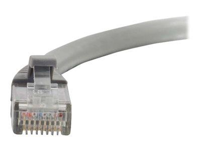 C2G 1.5m Cat5E 350 MHz Snagless Patch Cable - Grey