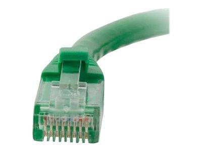 C2G .5m Cat5E 350 MHz Snagless Patch Cable - Green