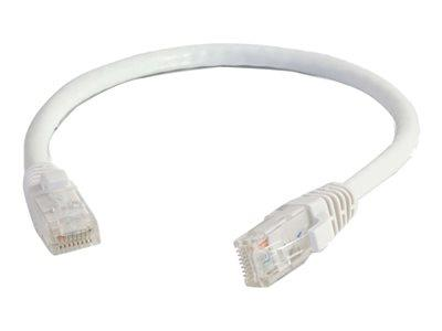 C2G 15m Cat5E 350 MHz Snagless Patch Cable - White