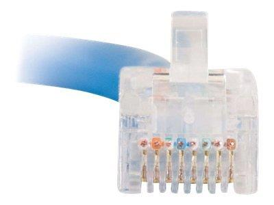 C2G 1m Cat5E 350 MHz Crossover Patch Cable - Blue