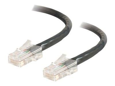C2G 2m Cat5E 350 MHz Crossover Patch Cable - Black