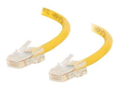 C2G 1m Cat5E 350 MHz Crossover Patch Cable - Yellow
