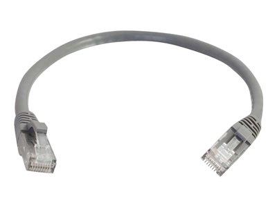 C2G 1m Cat6 550 MHz Snagless Patch Cable - Grey