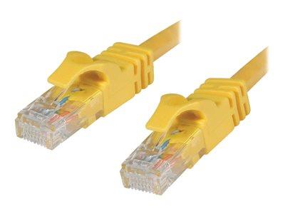 C2G 1.5m Cat6 550 MHz Snagless Patch Cable - Yellow