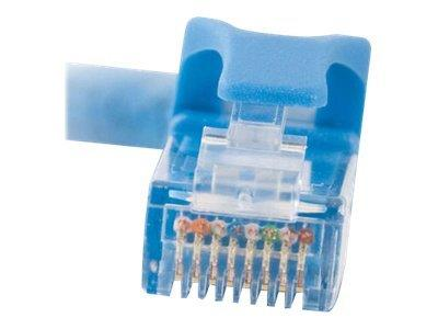 C2G 2m Cat6 550 MHz Snagless Crossover Cable - Blue