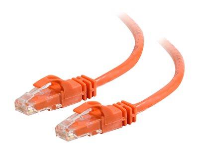 C2G 1.5m Cat6 550 MHz Snagless Patch Cable - Orange