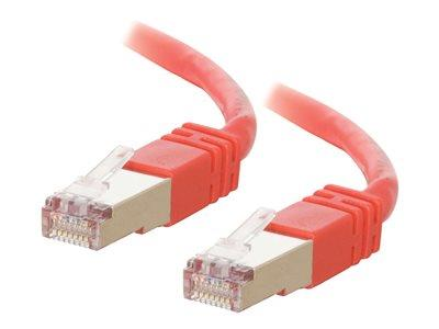 C2G 3m Shielded Cat5E Moulded Patch Cable - Red