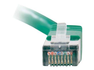 C2G 15m Shielded Cat5E Moulded Patch Cable - Green