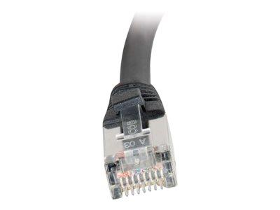 C2G 3m Shielded Cat5E Moulded Patch Cable - Black