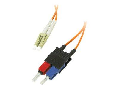 C2G 7m LC/SC LSZH Duplex 62.5/125 Multimode Fibre Patch Cable - Orange