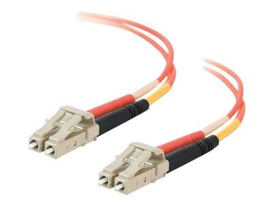 C2G 5m LC/LC LSZH Duplex 50/125 Multimode Fibre Patch Cable - Orange