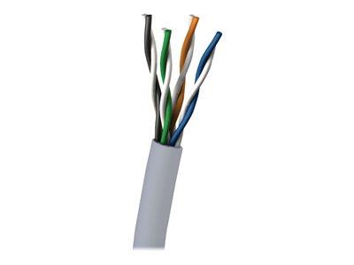 C2G 305m Cat6 UTP 550 MHz Solid PVC CMG-Rated Cable - Blue