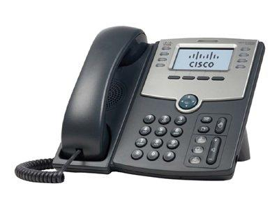 Cisco 8 Line IP Phone With Display PoE and PC Port