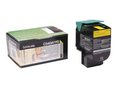 Lexmark Yellow Return Program Toner