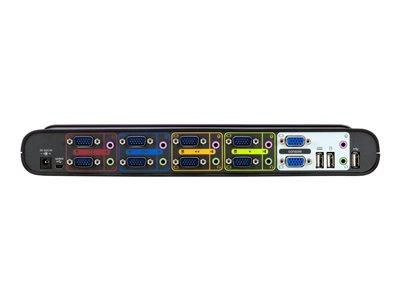 Belkin OmniView Soho Series 4-Port USB Dual Headed KVM