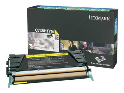 Lexmark Yellow High-yield RP Toner